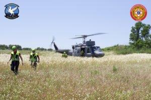 Soccorso Alpino e Marina Militare, addestramento congiunto in Aspromonte
